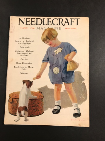 Needlecraft 1928 March Cover